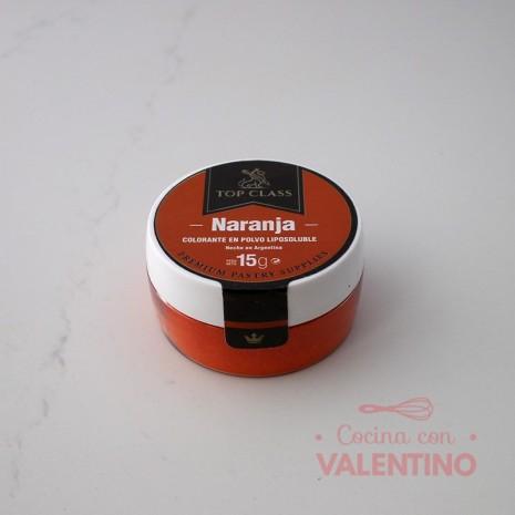 Colorante en Polvo Liposoluble Top Class Naranja - 15Grs