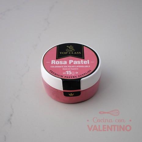 Colorante en Polvo Liposoluble Top Class Rosa Pastel - 15Grs