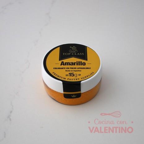 Colorante en Polvo Liposoluble Top Class Amarillo - 15Grs
