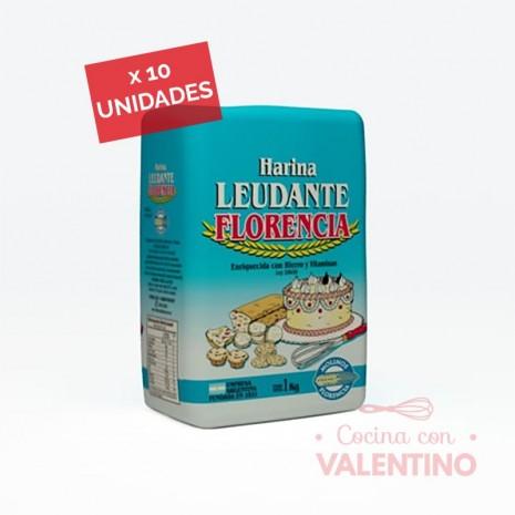 Harina Leudante Florencia - 1Kg - Pack 10 Un.