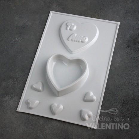 Placa Plastichok Alhajero Corazón 683C