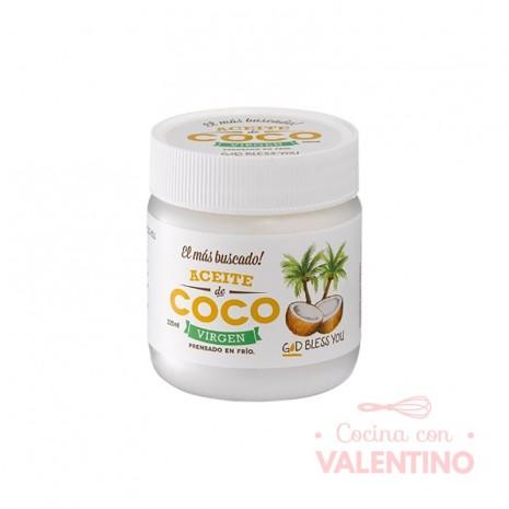 Aceite de Coco Virgen God Bless You - 225Grs