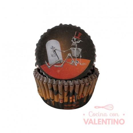 Pirotines N°10 Halloween - Lapida y esqueleto - 25u. Convida