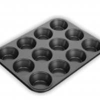 Placa p/ Muffins Rect. Chapa 60x40cm