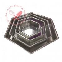 Molde Hexagonal 5cm Alto