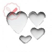 Cortante Corazón en Zigzag Oriac