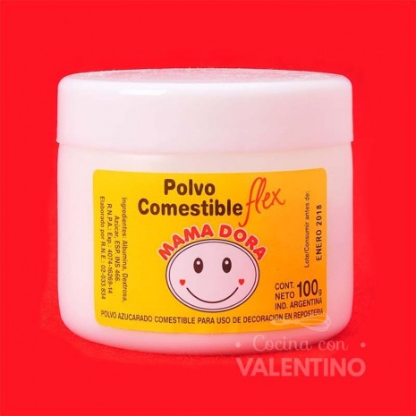 Polvo Comestible Para Puntillas - 100Grs