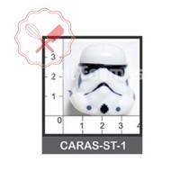 Molde Flexible Star Wars - Storm Trooper