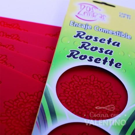 Molde Sil. Puntilla Comestible Roseta Dos Lembas
