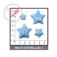 Molde Flexible Estrellas