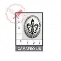 Molde Flexible Flor de Lis