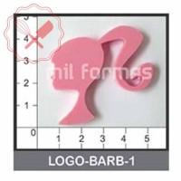 Molde Flexible Logo Barbie
