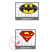 Molde Flexible Logo Batman/ Superman
