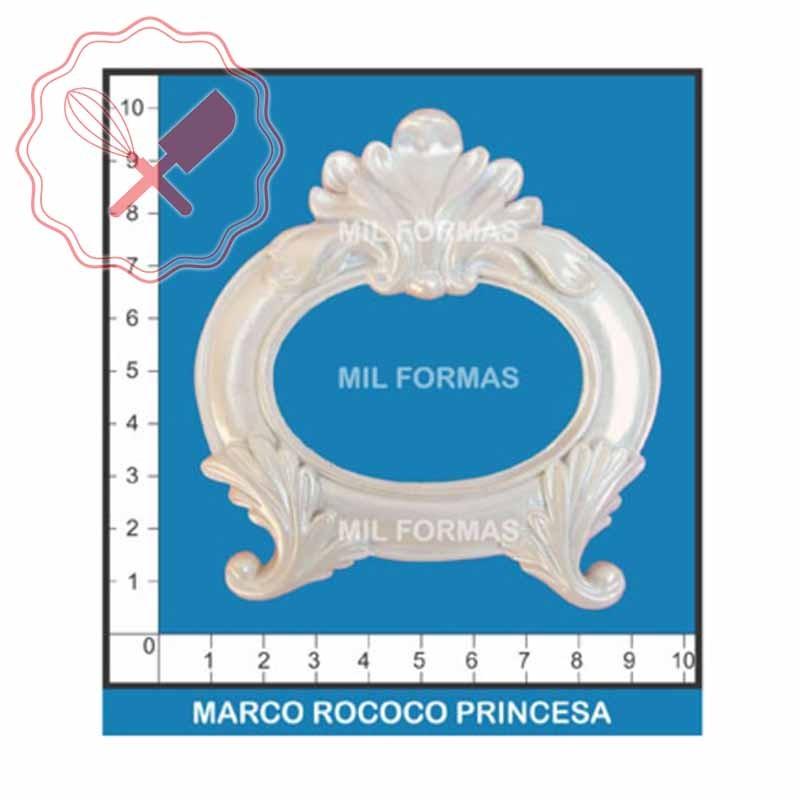 Molde Flexible Marco Rococo Princesa - Valentino