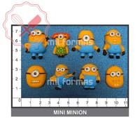 Molde Flexible Mini Minions