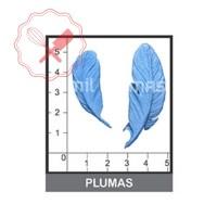 Molde Flexible Plumas