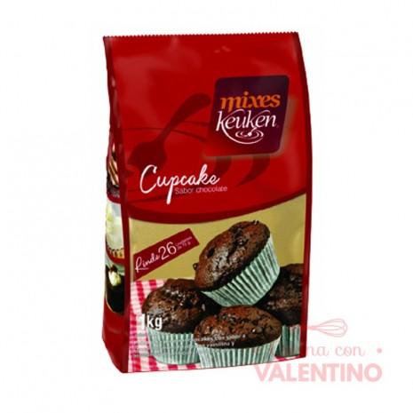 Mix Cupcake Chocolate Keuken - 1Kg