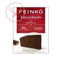 Prem. Bizcochuelo Chocolate s/ Azucar (Sucralosa) Feinko - 500Grs
