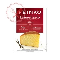 Prem. Bizcochuelo Vainilla s/ Azucar (Sucralosa) Feinko - 500Grs