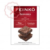 Prem. Brownies Chocolate s/ Azucar (Sucralosa) - 200Grs