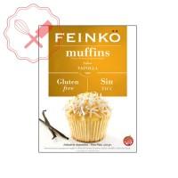 Prem. Muffins Vainilla s/ Gluten Feinko - 250Grs