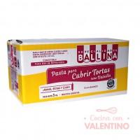 Pasta Cubretorta Vainilla Ballina - 3Kg