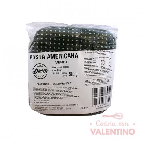 Pasta Americana Verde - 500Grs