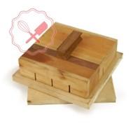 Molde p/ Cortar Sandwiches de Miga 25x25 x6u / 25x25 x8u