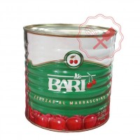 Cerezas Al Marras Entera Lata Bari - 3.1Kg