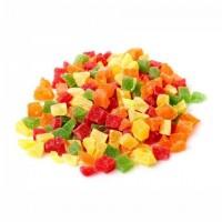 Anana Desh. Azucarado Cubos 4 Colores Granel - 1 Kg