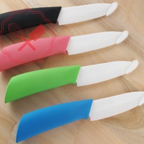 Cuchillo Cerámica Gde. Mango Color
