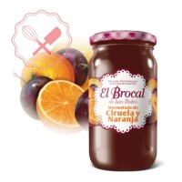 Mermelada Ciruela y Naranja - 420Grs