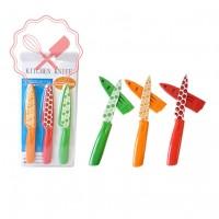 Cuchillos Colores Set 3u