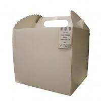 Caja Cartulina Torta 2 Pisos 33 x 33 x 30 cm
