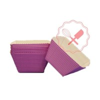 Pirotines Cubeta Violeta 100u
