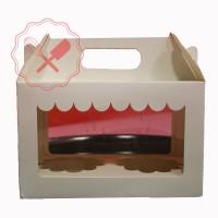 Caja Cartulina Tienda 2 Cupcake 17x9.5x11cm c/ Zóc