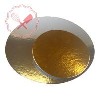 Disco Carton Oro/Plata