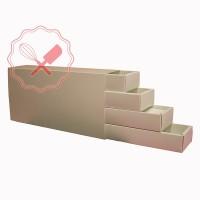 Caja Fosforera 7x31x14cm 4 Pisos