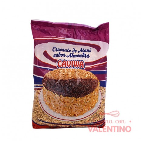 Crocante de Mani Sabor Almendra Caviwa - 1Kg