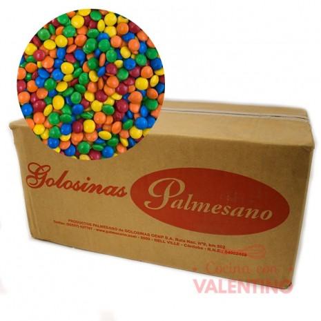 Lentejas Mini de Chocolate Multicolor - 11Kg