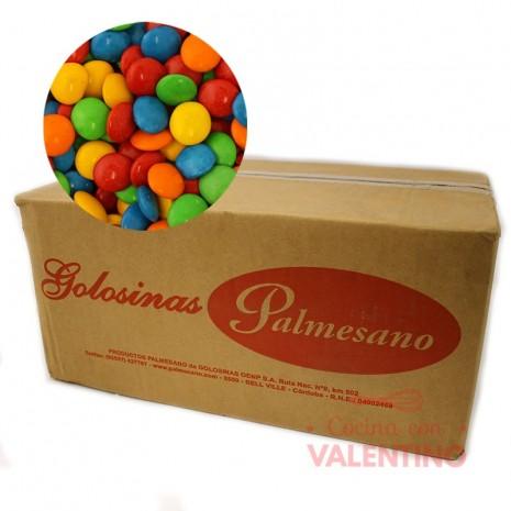 Lentejas de Chocolate Multicolor - 10Kg