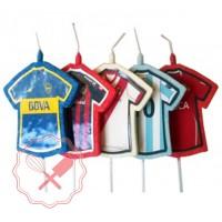 Vela Camiseta fútbol PACK x3