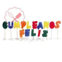 Vela Frase Feliz Cumpleaños Caja
