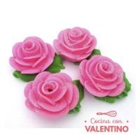 Adorno Azucar Rosa Grande Especial - 5u