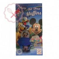 Deco Muffin c/ Licencia - 12u