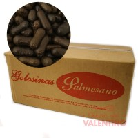 Confites Huesitos Chocolate - Caja 14Kg