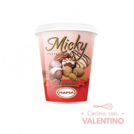 Pasta Relleno Micky Avellana - 450Grs