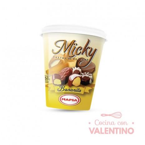 Pasta Relleno Micky Bananita - 450Grs