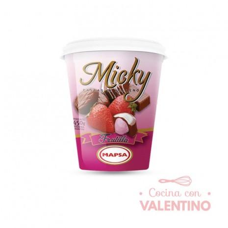 Pasta Relleno Micky Frutilla - 450Grs