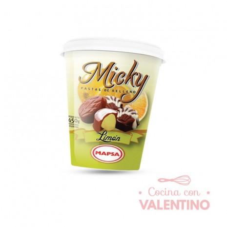 Pasta Relleno Micky Limon - 450Grs